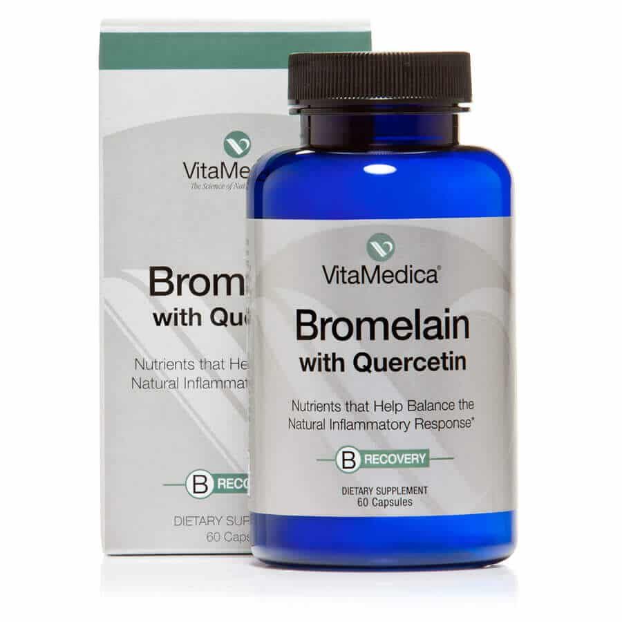 Vitamedica-Bromelain with Quercetin Bottle